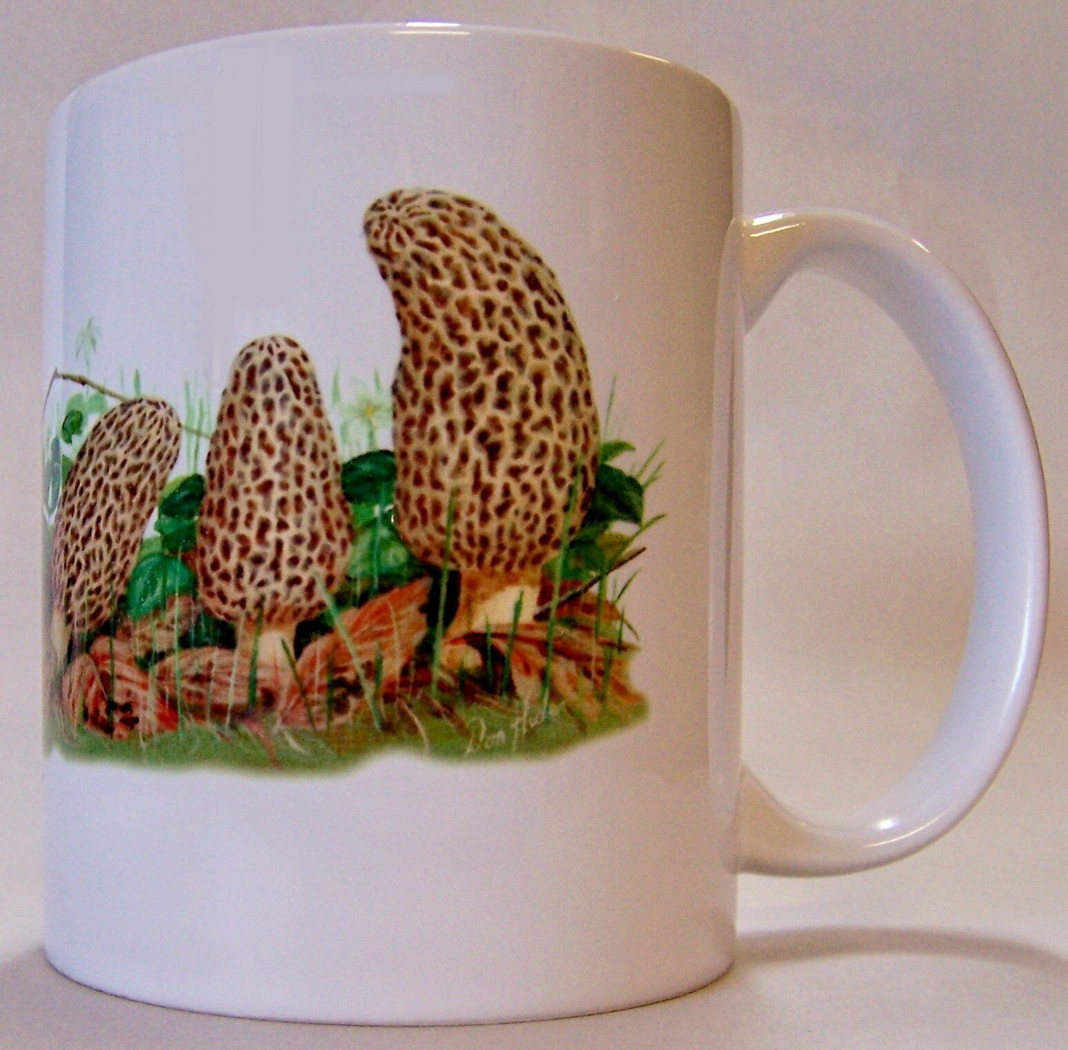 Morel Row Mug